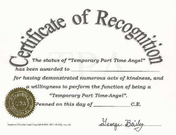 Certificate Of Acknowledgement Template For Acknowledgement Certificate Templates